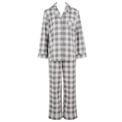 【アモスタイル】☆NEW☆ブロックチェックパジャマ